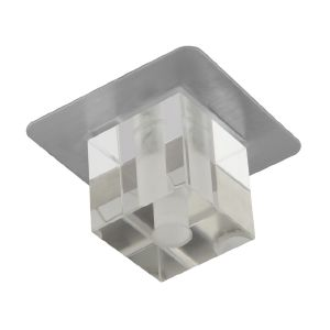 DESTOCKAGE PROMO Spot Design Cubique Nickel Satiné DAVID ref 4965