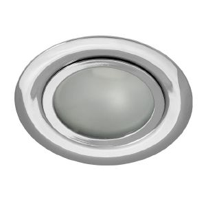 Spot Extra Plat Encastrable GAVI Finition Chrome 12v