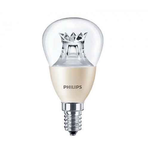 DESTOCKAGE Ampoule Philips LED Dimmable E14 LEDlustre EDITION 6W-40W 2700K 470 Lumens P48