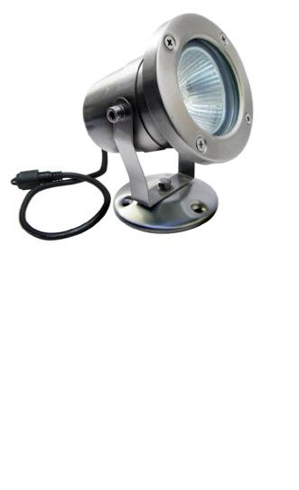 Easy Connect Projecteur Orientable 230 Volts Focus 63mm Inox IP67 Ref 65210
