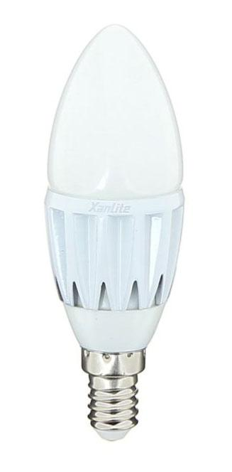 DESTOCKAGE Ampoule Led E14 Flamme XANLITE de 2,5W blanc chaud