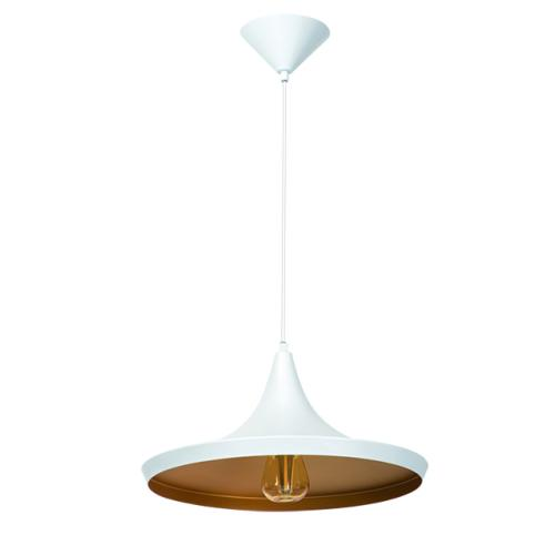 DESTOCKAGE Luminaire suspension design E27 BLANC Collection AVINI ref 24300 par Kanlux