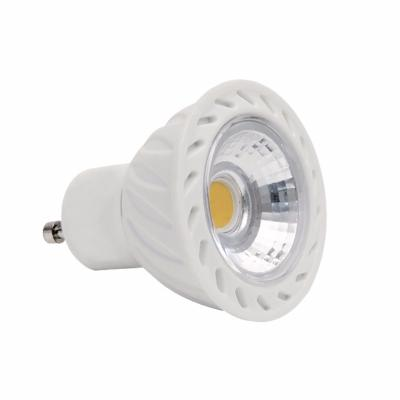 Ampoule led dimmable en GU10 COB 7W 36° blanc chaud  ou blanc froid