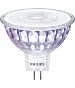 Ampoule MASTER LED SMD Dimmable 12V GU5.3 7W 630LM 3000K Blanc Chaud PHILIPS - 81562500
