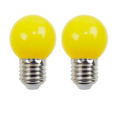 Ampoules LED E27 220V 1W Jaune EASY CONNECT