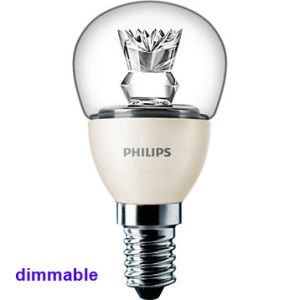ampoule led philips e14 ledlustre dimmable 2700k p45. Black Bedroom Furniture Sets. Home Design Ideas