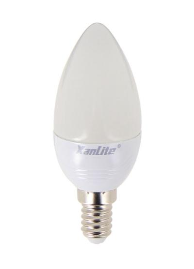 Ampoule LED E14 Flamme Dimmable LED EVOLUTION XXX MEMO K 5.5W = 470Lm équiv 40W Blanc Chaud XANLITE