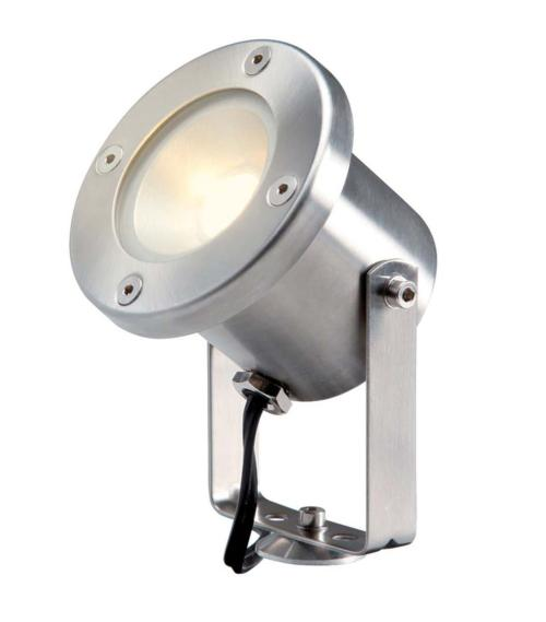 Spot projecteur piquer ou visser CATALPA 3W GU5.3 MR16 IP44 Blanc Chaud Garden lights av. ampoule