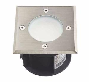Spot rond en inox 316L 20 Leds SMD tension 220V Blanc Froid IP67 Collection Québec