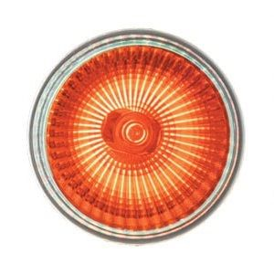 DESTOCKAGE Ampoule GU10 Orange 220v ECO Halogene Puissance 28w (équivalant à 35w)