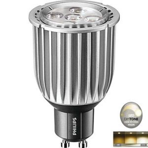 ampoule led gu10 philips master led dimtone dimmable 8 50w 2700k 40 r f 682455. Black Bedroom Furniture Sets. Home Design Ideas