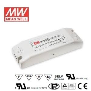 Alimentation LED Design plat Mean Well 60W Transformateur PLC-60-12 ***