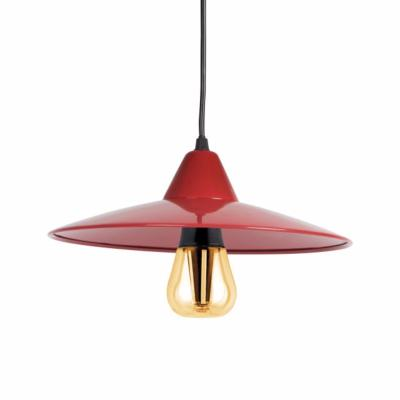 DESTOCKAGE Luminaire suspension ROUGE design avec ampoule LED à filament JOVIT ref 24250 par Kanlux