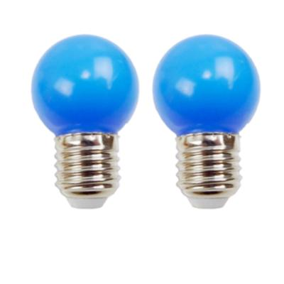 Ampoules LED E27 220V 1W Bleu EASY CONNECT