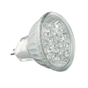 Ampoule gu5.3/mr16 à 21 leds Blanc Froid