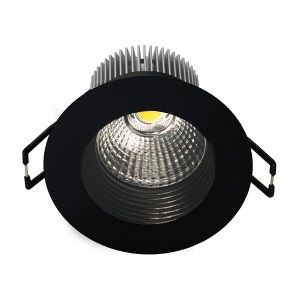 destockage downlight 8 5 watts spot encastrable rond quella avec led cob integree. Black Bedroom Furniture Sets. Home Design Ideas