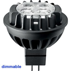 DESTOCKAGE ampoule dimmable led philips MR16 ou gu5.3 7 = 35 watts 3000K 60d