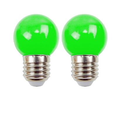 Ampoules LED E27 220V 1W Vert EASY CONNECT