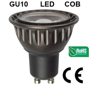 DESTOCKAGE Ampoule GU10 LED COB 5W blanc froid 6000-6500K 45°