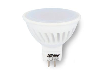 Ampoule LED SMD 12V GU5.3 MR16 7W 595LM Blanc neutre 4000K LED LINE