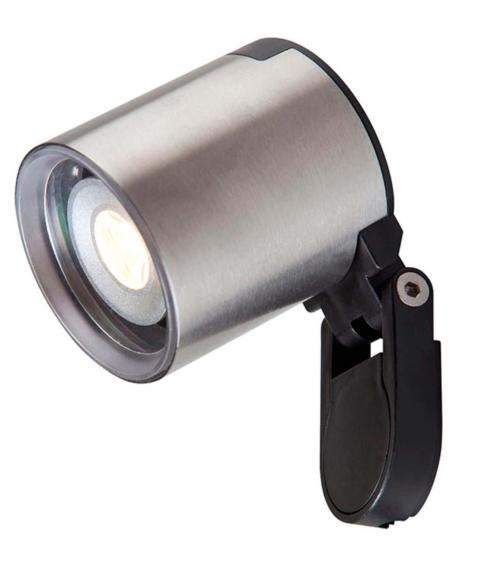 Spot projecteur piquer ou visser GALILEO 2W GU5.3 MR11 IP44 Blanc Chaud Garden lights av. ampoule