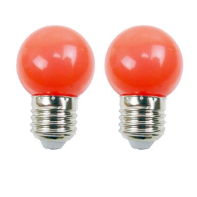 Ampoules LED E27 220V 1W Rouge EASY CONNECT