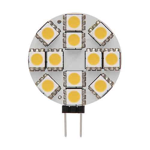 DESTOCKAGE Ampoule led G4 à 12 Led SMD 5050 Blanc Froid 6000K