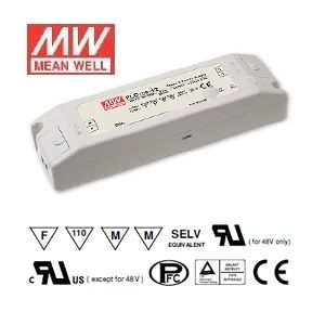 Alimentation LED Deisgn plat Mean Well 30W Transformateur PLC-30-12