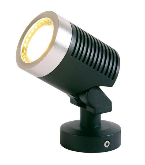 Spot projecteur ARCUS 5W GU5.3 MR16 IP44 Blanc Chaud Garden lights ampoule fournie