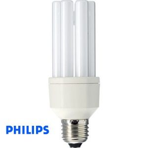 Ampoule E27 Philips fluocompacte 20W = 90W Master STAIRWAY 2700K blanc chaud réf 877694 fluocompact