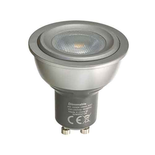 destockage Philips MasterLED GU10 4W MV Dimmable Blanc Chaud léger 3000K 40°