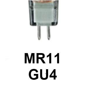 Type: MR11/GU4 en 12 Volts