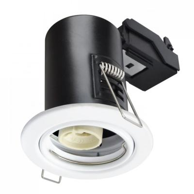 Spot encastrable anti-feu downlight Chrome GU10 IP20 V-TAC