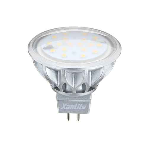 DESTOCKAGE Ampoule led SMD GU5.3 12v de 3.8W équivalente a 50 Watts Halogene MM280s Xanlite