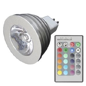 Ampoule led gu10 led rgb nouvelle g n ration controlable - Ampoule led 12 volts ...