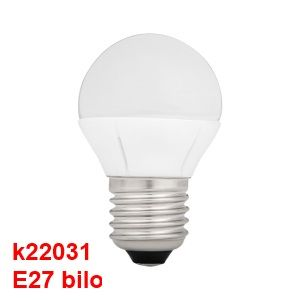 Ampoule E27 G45 à led smd blanc chaud 5.8 watts = 36 watts collection BILO