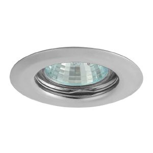 Spot encastrable chrome ulke type gu4 mr11 kanlux ref 321 for Spot led interieur encastrable