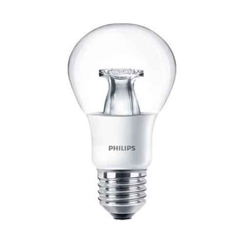 DESTOCKAGE Ampoule Philips E27 Dimmable LEDbulb DT 6=40W A60 CL Master réf 48128800