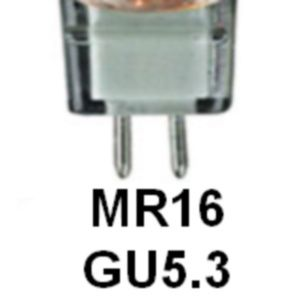 Type: MR16/GU5.3 en 12 Volts