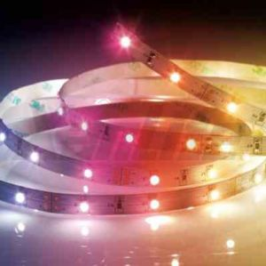 DESTOCKAGE Rallonge Strip LED 5 m couleurs changeantes XANLITE Ref LSBR5RVB