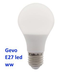 DESTOCKAGE Ampoule E27 led smd blanc neutre GEVO 6.4W = 44W 180°