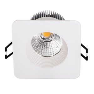 Downlight 8,5 watts spot encastrable carré